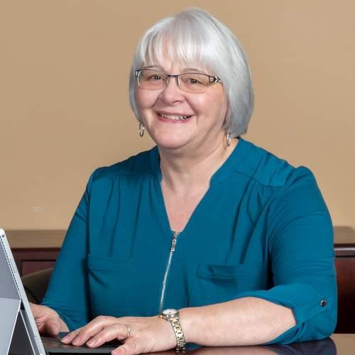 Jocelyne Boyce, head of bookkeeping